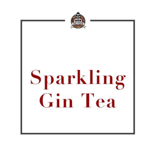 Sparkling Gin Tea