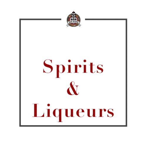 Spirits/Liqueurs
